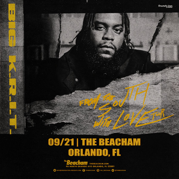 None - Enter for a chance to win 2 tickets to see Big K.R.I.T From The South with Love Tour