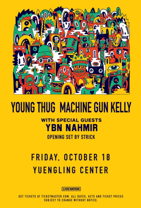 None - Enter for your chance to win a pair of tickets to see Young Thug with MGK