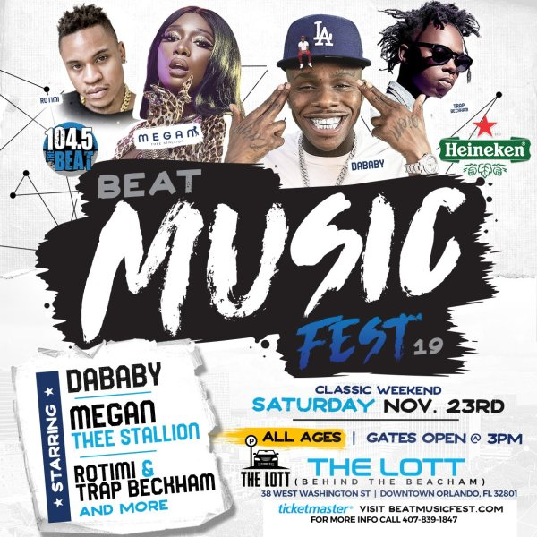 None - Tickets to The Beat Music Fest 2019!