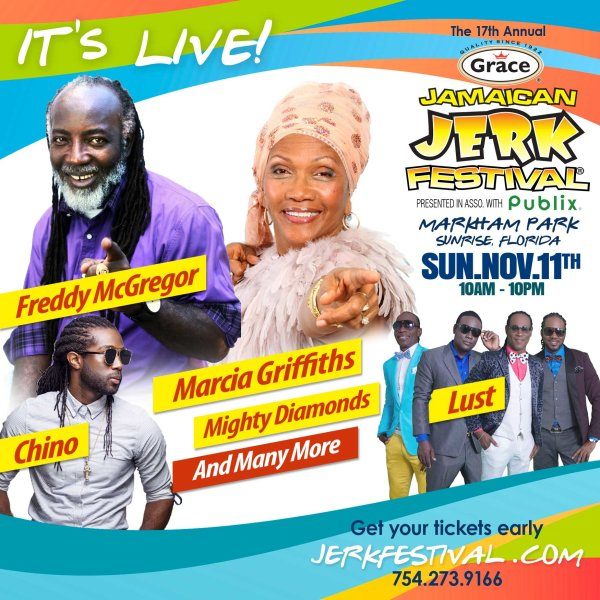 None - Grace Jamaican Jerk Festival