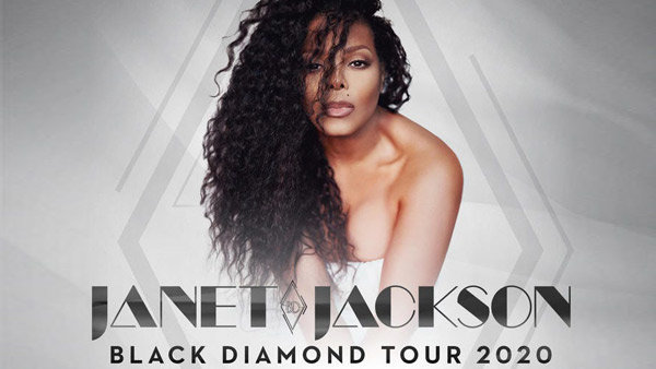 image for Janet Jackson 'Black Diamond Tour 2020