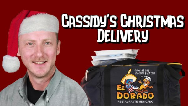 None - Register to win a visit from Ritch Cassidy along with food from El Dorado Cassidy's Christmas Delivery!
