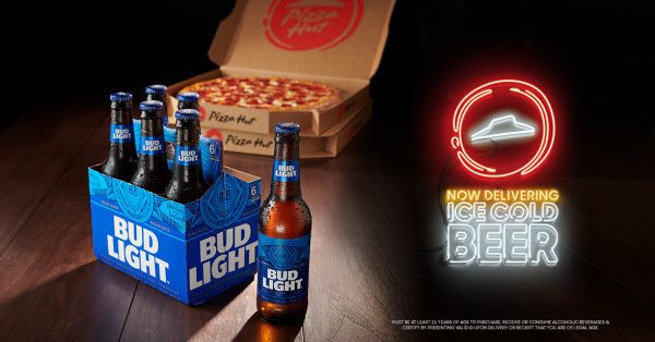 None - WIN a $25 Gift Card to Pizza Hut plus a 24 Pack of BEER!