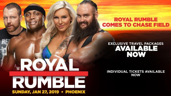 None - Win WWE Royal Rumble Tickets!