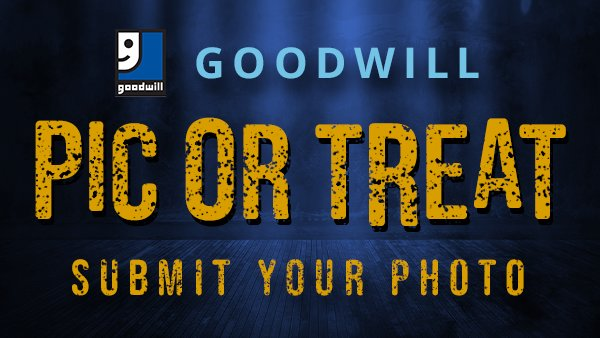 None - Goodwill Pic or Treat Contest 2019