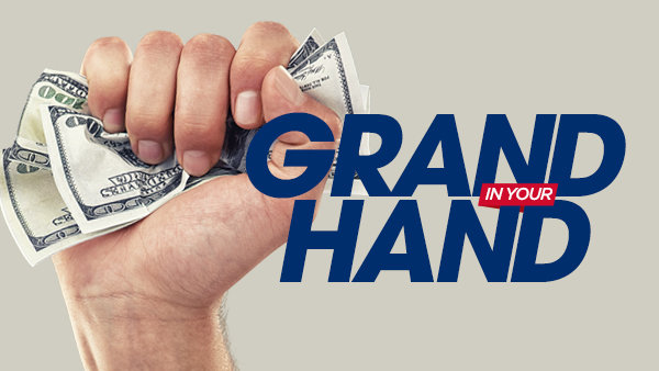 None -  Grand In Your Hand on WRKO