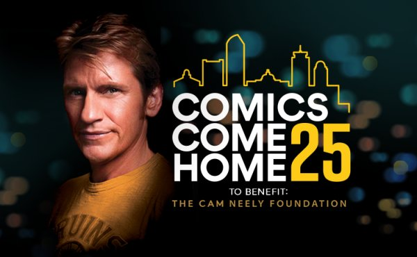 None - Enter to win a pair of tickets to Comics Come Home 25
