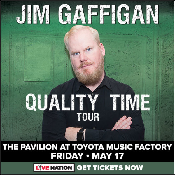 None -  Win Tickets To See Jim Gaffigan