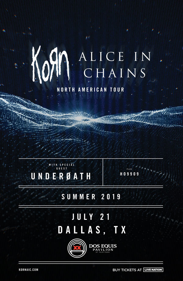 None - Listen To Win Tickets To See Alice In Chains + Korn!