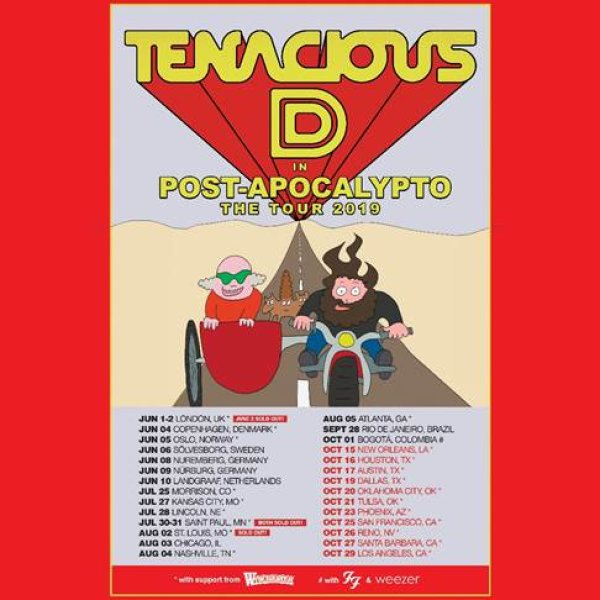 None - Listen To The Russ Martin Show For Your Chance To Win Tenacious D Tickets!