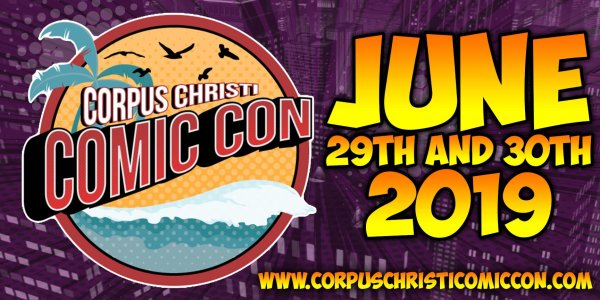 None - Register to win Corpus Christi Comic Con Tickets!