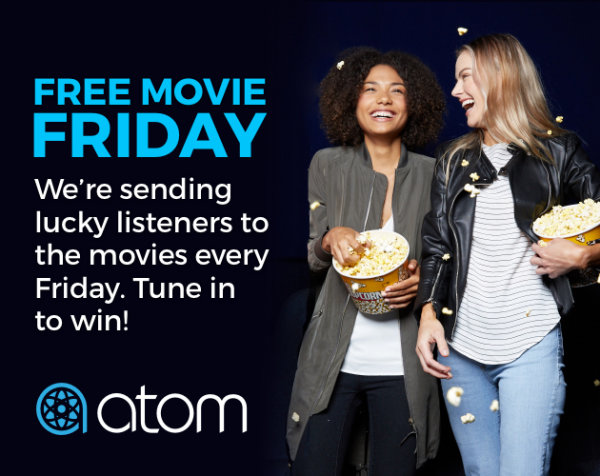 None -  Free Movie Friday's with the ATOM Movie Ticket App!