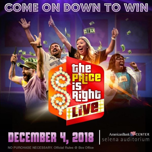 None - Register to win Tickets to The Price is Right Live!