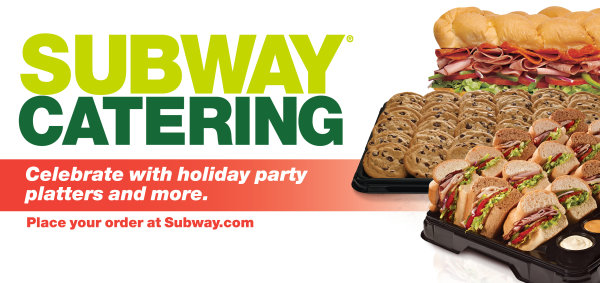 None - Register to win Subway Catering for Your Office!