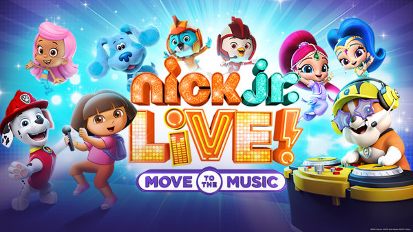 None - Nick Jr. Live Move to The Music!