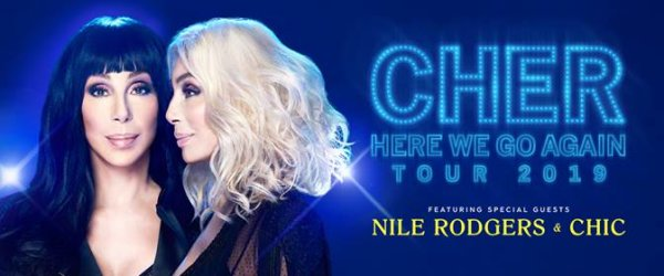 None - Cher Dec. 17th at the AT&T Center in San Antonio