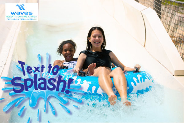 None - Text to Splash with Waves Resort!
