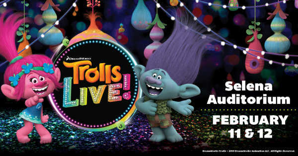 None - Trolls Live! American Bank Center in Feb.