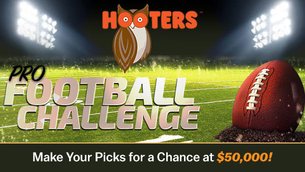 None - Hooters Pro Football Challenge