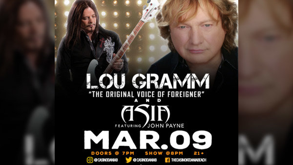 None -  Lou Gramm with Asia