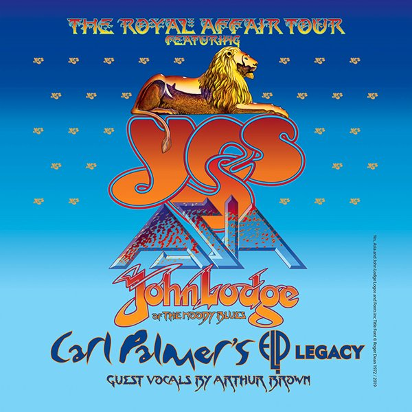 None -   Yes - The Royal Affair Tour
