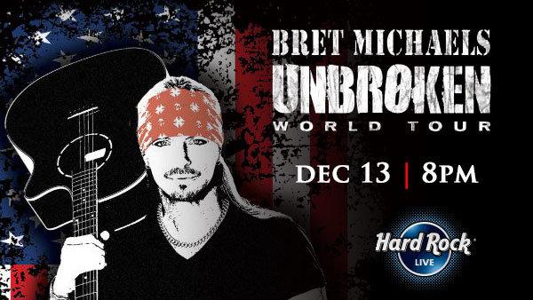 None - Bret Michaels Unbroken World Tour