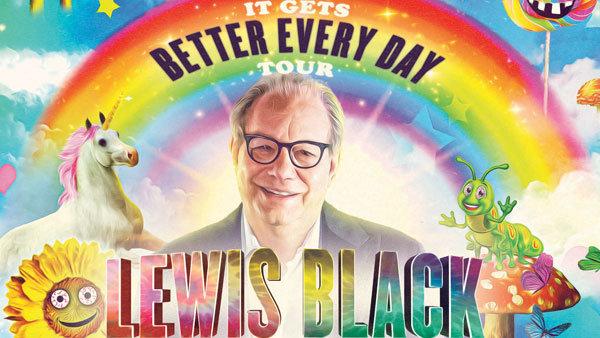 None - Lewis Black It Gets Better Tour