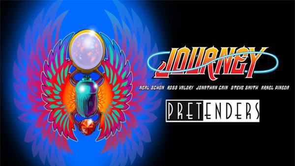 None - Journey + Pretenders North American Tour