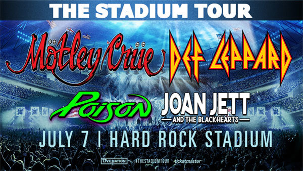 None - The Stadium Tour with Motley Crue, Def Leppard, Poison, Joan Jett & The Black Hearts