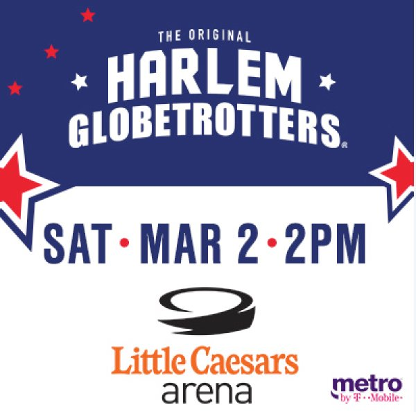 None - Win tickets to see the Harlem Globetrotters!