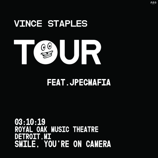 None - Win a pair of tickets to see Vince Staples!