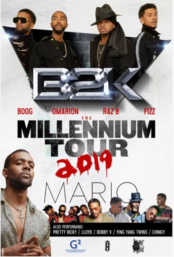 None - Win tickets to The Millennium Tour!