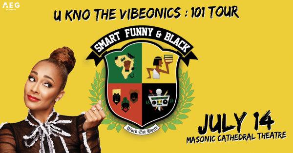 None - Win Tickets to Amanda Seales Smart, Funny & Black Tour