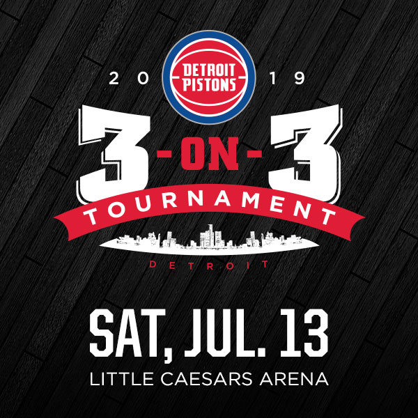 None - Win a Spot for Your Team in the Pistons 3 on 3 Tournament!
