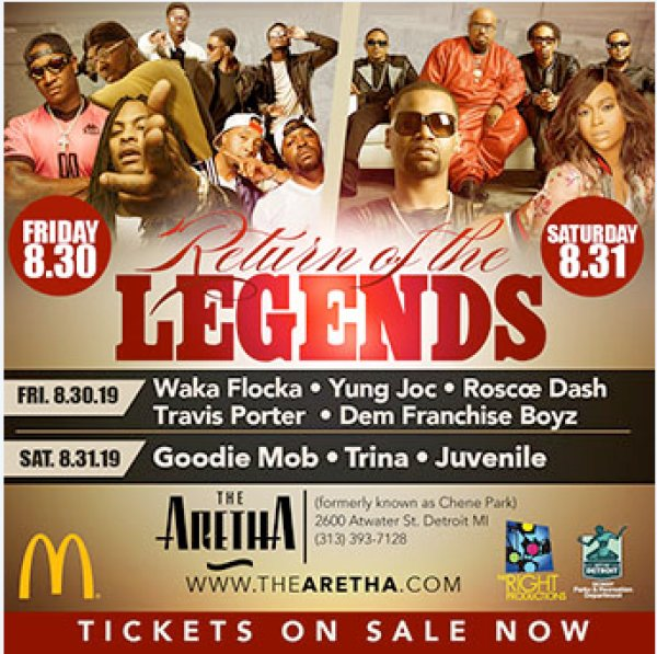 None - Win tickets to the Return of the Legends Tour