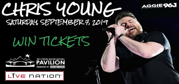 None - Chris Young Ticket Giveaway