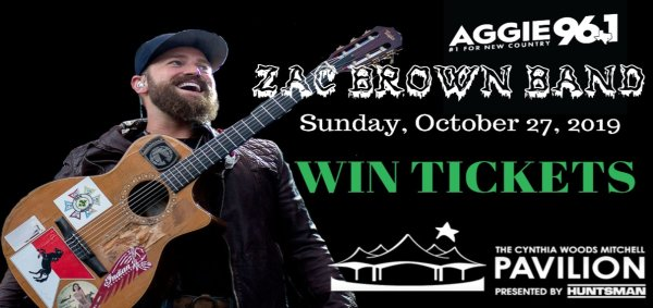 None - Zac Brown Band Ticket Giveaway