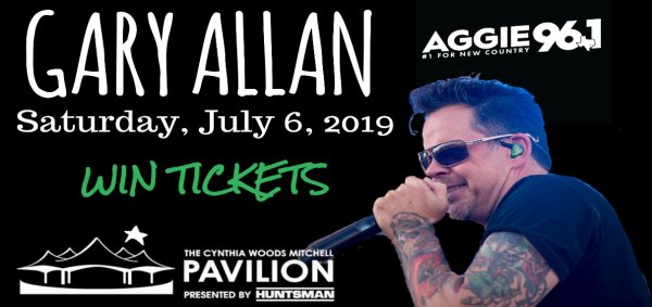None - Gary Allan Tickets Giveaway