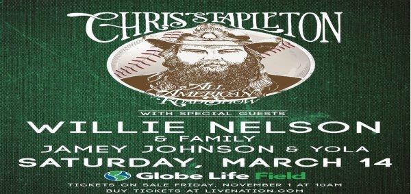 None - Chris Stapleton Ticket Giveaway!!!