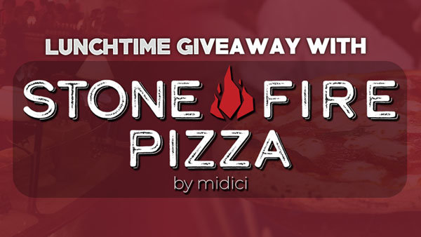 None - Stone Fire Pizza By Midici Lunchtime Giveaways!