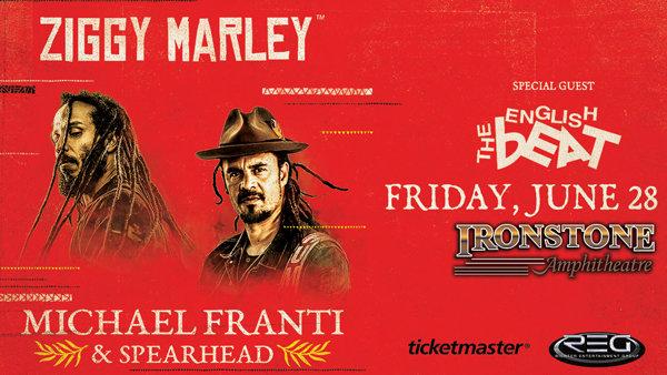 None - Ziggy Marley & Michael Franti LIVE!