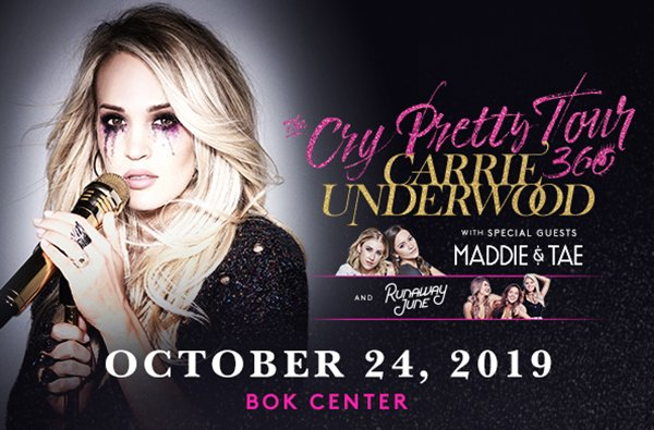 None - Enter To Win Tickets To See Carrie Underwood