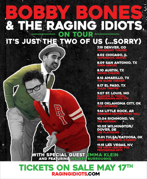 None - Enter To Win Tickets To Bobby Bones & The Raging Idiots!