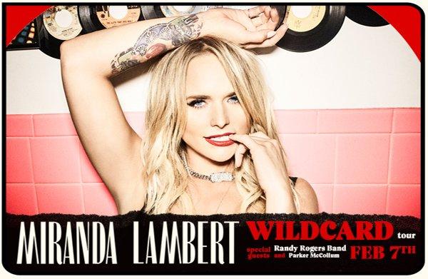 None - Enter To Win Tickets To Miranda Lambert!