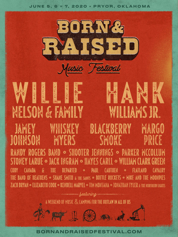 image for Enter To Win Tickets To Born and Raised Music Festival!