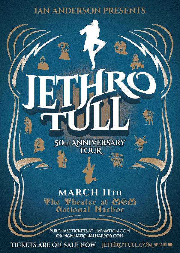 None - Win Ian Anderson Presents: JETHRO TULL – 50th Anniversary Tickets