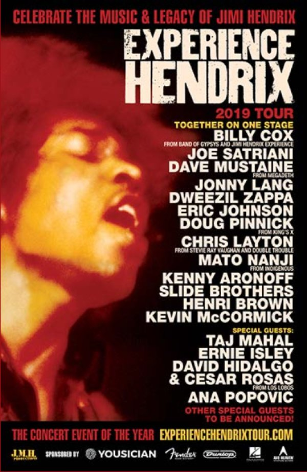 None - Win tickets to the Experience Hendrix Tour
