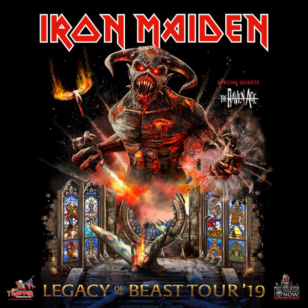 None - Win Iron Maiden Tickets