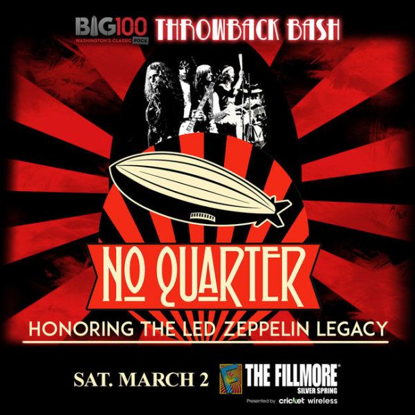 None - Win BIG 100 Throwback Bash Featuring No Quarter Tickets