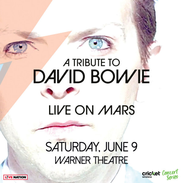 None -     Live On Mars: A Tribute to David Bowie Tickets